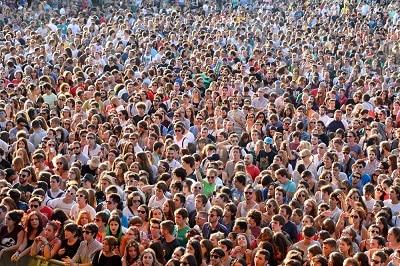 surpopulation dans le monde
