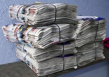 déforestation dechets papiers