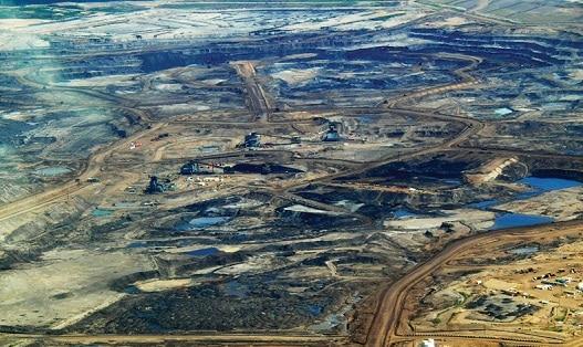 Sable bitumeux désastre environnementale