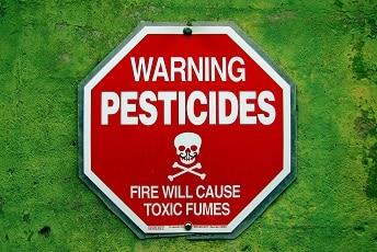 Pesticide jardinerie