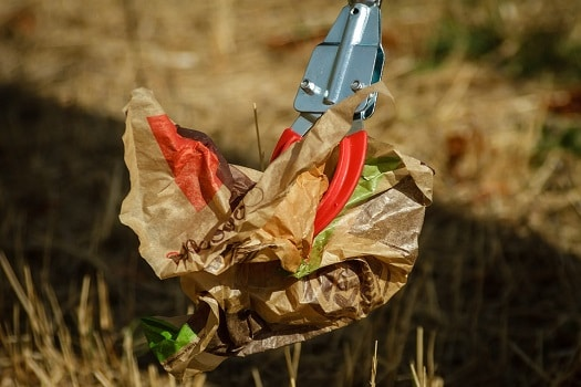 déchets fast food